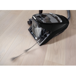 Bagless cylinder vacuum cleaners