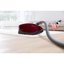 Cylinder vacuum cleaners with dustbag